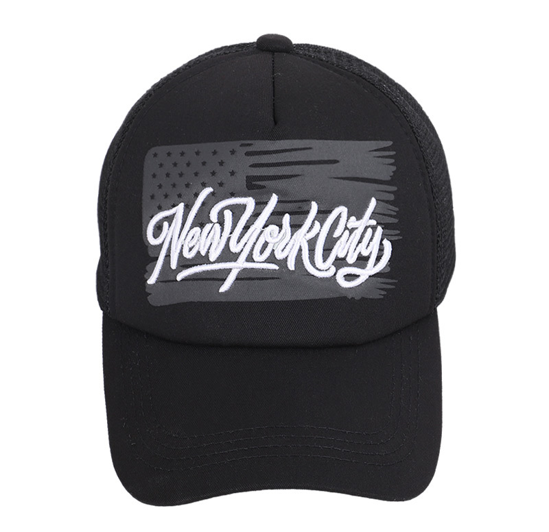 Wholesale 10pcs lot NEW YOUK Embroidery Baseball Cap Summer Men Women Mesh Cap Breathable Trucker Style in Men 39 s Baseball Caps from Apparel Accessories