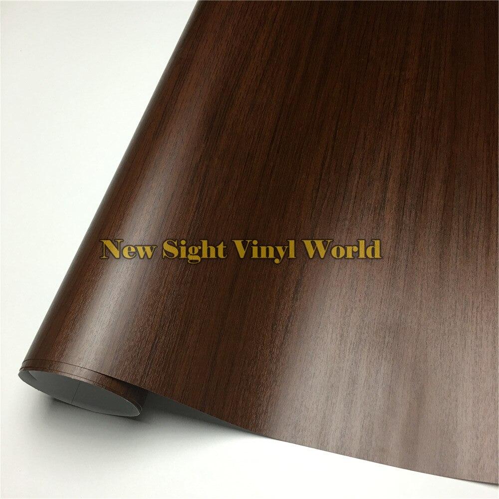 Chêne bois Grain vinyle rouleau bois PVC Film pour plancher meubles voiture Interier taille: 1.24X50 m/rouleau (4ft X 165ft)