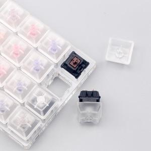 Image 4 - Tıknaz lineer dokunsal anahtarı test cihazı kiraz zealio gateron kutusu anahtarı test cihazı şeffaf klavye tuş takımı