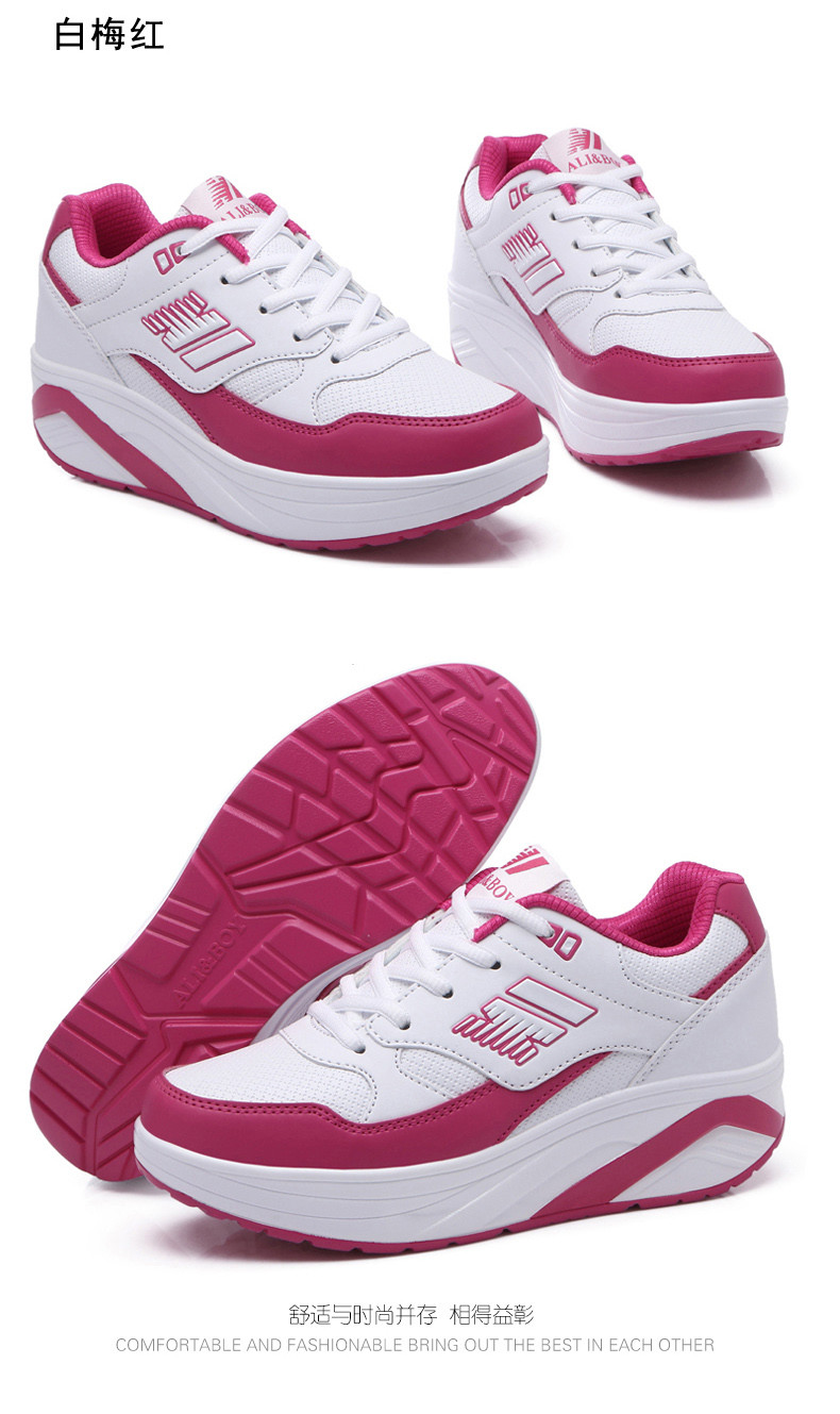 Autumn winter outdoor Girls Sneakers Platform Running Shoes for Women Sneakers Sports Shoes White Sneakers 7