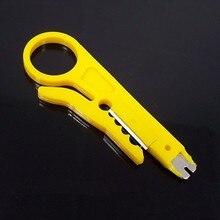 Мини Портативный Нож для зачистки проводов щипцы Клещи для обжима Зачистки Кабеля Кусачки многофункциональные инструменты Cut Line карманный многофункционального