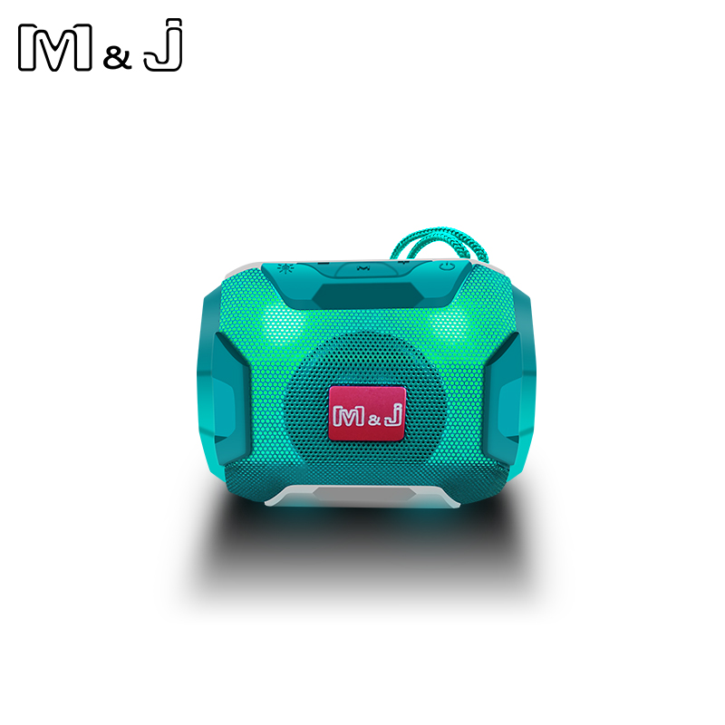 M&J Mini Wireless Bluetooth Speaker With LED TF Support USB Sub Woofer And Mp3 Stereo Audio Music Player 13