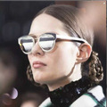 Futurism Designer CHROMIC Men Women Sunglasses Oval Shades Female Glasses Oculos De Sol Retro Coating Fashion European Style