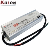 Genuine Meanwell HLG 240H 30A 30V adjustable Power Supply 240W 8A IP65 waterproof led driver