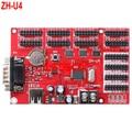 ZH-U4 USB & RS232 порт СВЕТОДИОДНЫЙ контроллер карты 4 * HUB08 + 8 * HUB12 3200*32 Одноместный & двухцветный СВЕТОДИОД контроллера карты 2 шт./лот