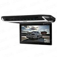 10 флип вниз автомобильный DVD крыша автомобиля DVD монитор крыши автомобиля DVD со встроенным портом HDMI и гладкий/элегантный дизайн сенсорной п