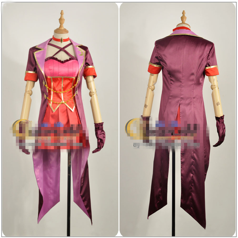 Japanese Amine THE IDOLM@STER Cinderella Girls Tulip Ichinose Shiki Cosplay Costume Custom Made Woman Dress