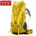 65L Марка рюкзаки Мужчины и женщины рюкзаки альпинизм мешок двойной плечо большая емкость Водонепроницаемый рюкзак путешествия