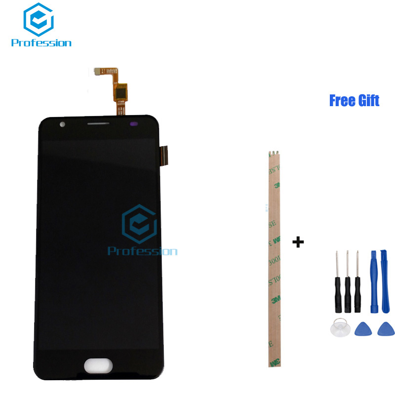 5.5 pouces Pour Oukitel K6000 Plus Écran LCD Affichage et Écran Tactile Digitizer Assemblée Remplacement + Outils + Adhésif