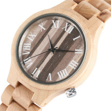 Charm Women Wooden Quarzt Wristwatch Bamboo Strap Vintage Watch Bracelet for Ladies Female Clock Montres Femmes 2017 Best Gift