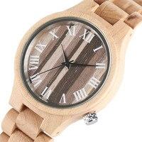 Charm Women Wooden Quarzt Wristwatch Bamboo Strap Vintage Watch Bracelet for Ladies Female Clock Montres Femmes 2017 Best Gift