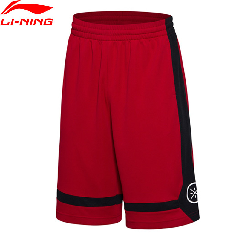 (Break Code) li-ning mężczyźni Wade serii szorty do koszykówki oddychająca podszewka Li Ning konkurs spodenki sportowe AKSM251 MKY303