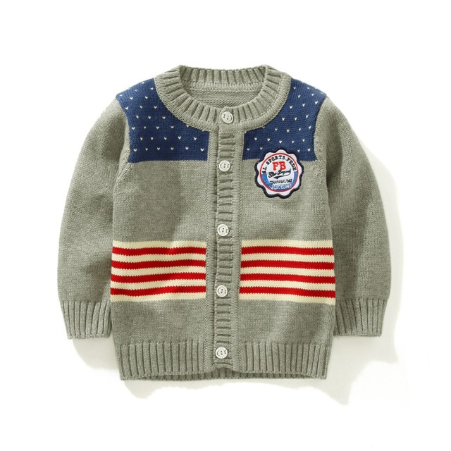 ded3f9274967 Autumn And Winter Warm Baby Boys Fashion Comfortable Sweaters Single ...
