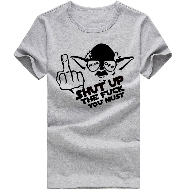 282d114785 New Mens Tee Shirts Keep Calm Yoda Star Wars Funny T Shirt Top T Shirt S  XXL for Men Clothes O Neck 100% Cotton Free Shipping-in T-Shirts from Men's  ...