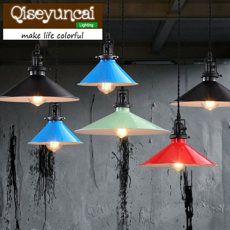 Designer  LOFT style retro industrial warehouse LED bar lamp chandelier lamp cockran