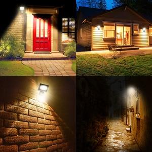 Image 5 - 10W LED Flood Light Motion Sensor Waterproof AC110V/220V LED Floodlight Projector Plastic Reflector Lamp Outdoor Garden Light