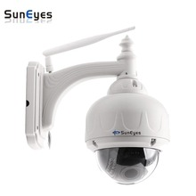SunEyes SP-V706W/V1806SW Wireless Wifi HD Dome IP Camera Outdoor PTZ Pan/Tilt/Zoom Auto Focus with 960P and 1080P Optional