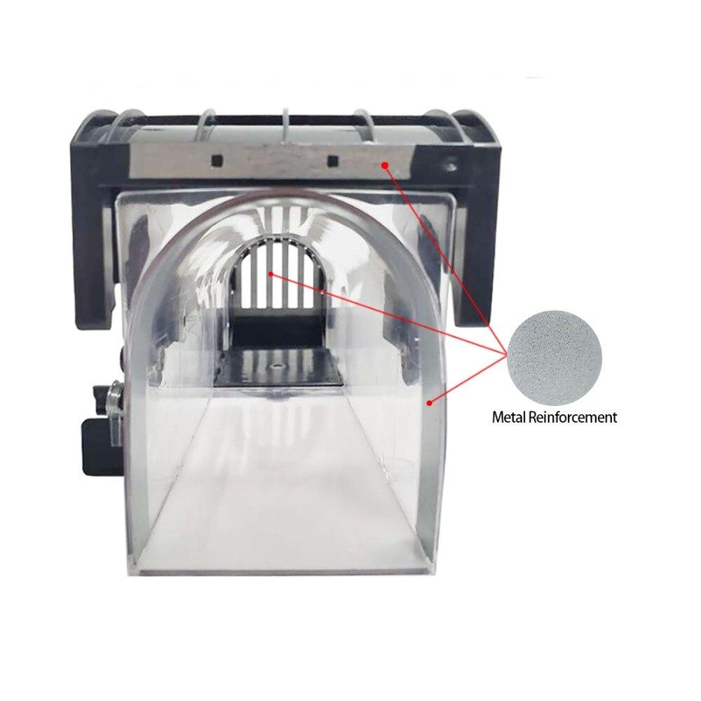 Piège à souris intelligent réutilisable, en plastique transparent, ne tue pas les rongeurs, piège à rats, piège à rats, pour lutter contre les parasites à l'intérieur et à l'extérieur