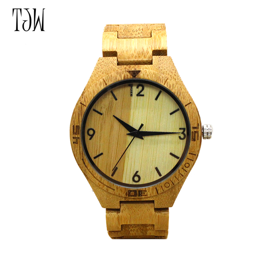 men women bamboo wooden watch quartz wristwatches time nature wood clock gifts male watches relogio masculino japanese miyota 2035 movement wristwatches genuine leather bamboo wooden watches for men and women gifts relogio masculino