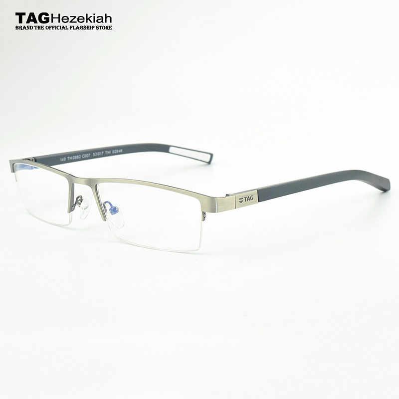 TAG Brand glasses frame New 2019 fashion eyeglasses frames Men 0882 optical  design vintage eyeglasses frame women oculos de grau