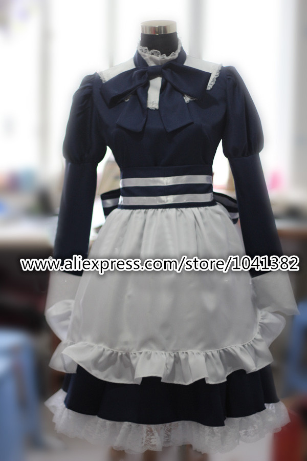 Axis Powers 헤타 리아 벨로루시 애니메이션 코스프레 의상 메이드 복장 Axis Powers 헤타 리아 벨로루시 Anime Cosplay Costume Maid Dress