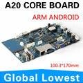 A20 motherboard incorporado pode ser inserido o cartão SD com o módulo embutido PCI-E 3G mainboard