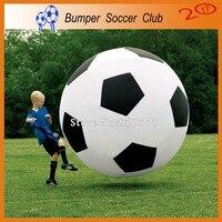 Бесплатная доставка! Бесплатная насос! 2 м надувные Футбол мяч, гигантские надувные Футбол, Средства ухода за кожей пузырь Футбол, бампер Фут