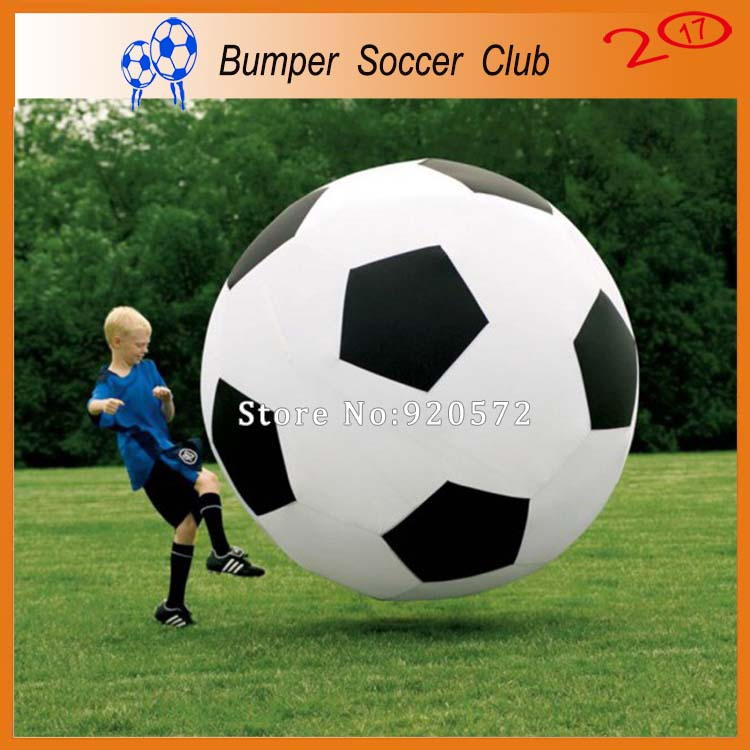Free shipping! Free pump! 2m Inflatable Soccer Ball,Giant Inflatable Football,Body Bubble Football,Bumper Soccer For Sale