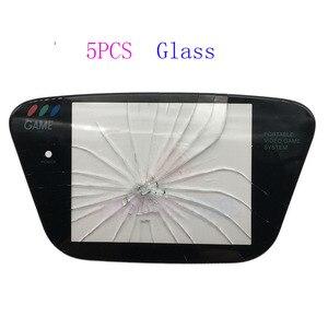 Image 2 - 5 pièces en verre matériau de protection écran de remplacement de lentille pour Sega Game Gear GG protecteur dobjectif