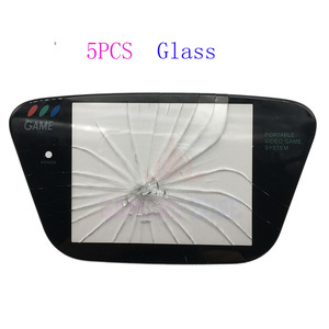 Image 2 - 5pcs Glass Material Protective Screen Cover Lens Replacement for Sega Game Gear GG Lens Protector