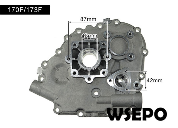 Top Quality! Crankcase Cover,Side Cover for 170F/173F 4HP~5HP Air Cooled 04 stroke Diesel Engine oem quality camshaft for ct1125 4 stroke single cylinder small water cooled diesel engine