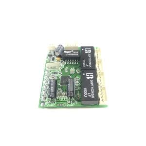 Image 4 - ミニエクストラスモール 3/4/5 ポート 10/100 Mbps エンジニアリングスイッチモジュールネットワークアクセス制御カメラ絶妙なコンパクト PCBA ボード OEM