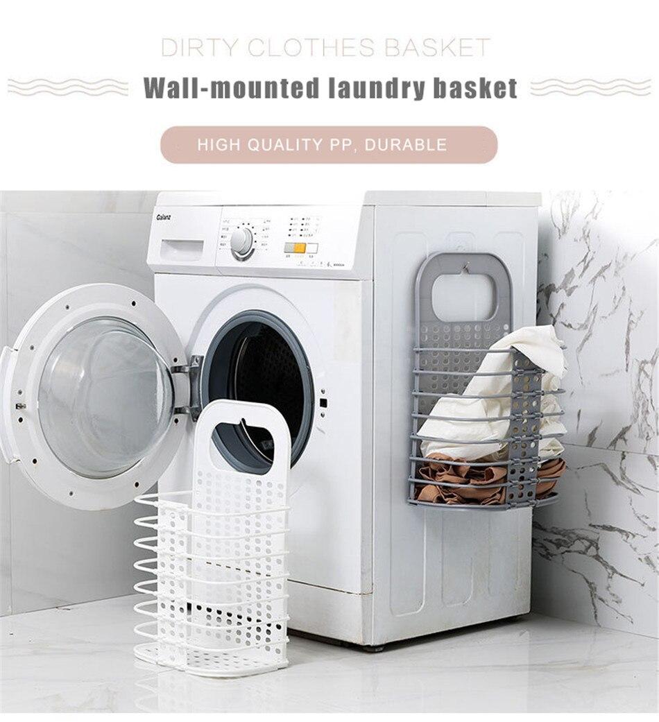 Laundry Basket Collapsible Laundry Hampe