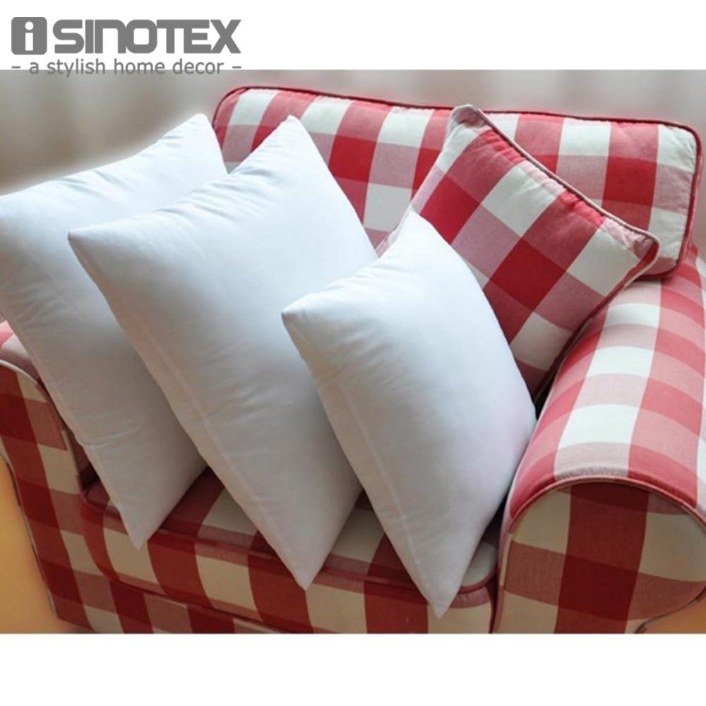 1 pcs 50 50 non fabrics throw pillow inner for cushion - Fabric for throw pillows ...