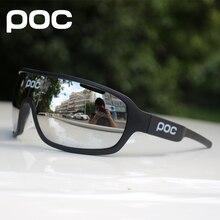 1871f15c062a8 POC 3 Lens Esporte ciclismo Da Bicicleta Da Bicicleta Ciclismo Óculos óculos  de Sol Gafas Óculos