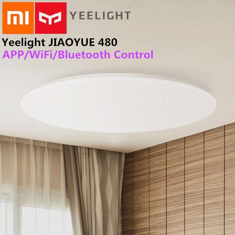 Потолочный светильник Yeelight JIAOYUE 480 Light Smart APP/WiFi/Bluetooth светодиодный потолочный светильник 200 240 в пульт дистанционного управления