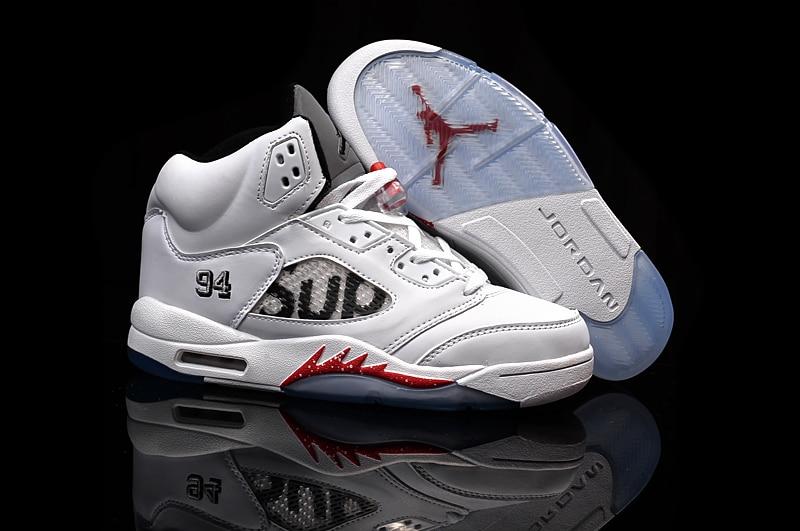 JORDAN 5 de Basket-Ball Chaussures AJ5 Faible aider JORDAN Sneakers Hommes Chaussures de Basket-Ball Jordan 5 taille: 41-47