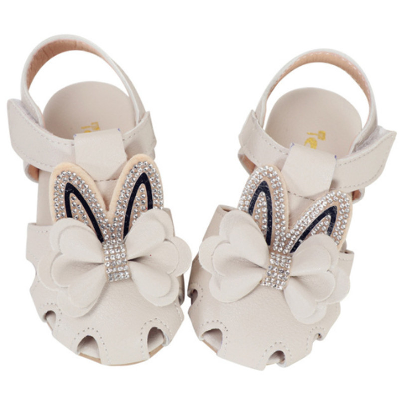 Kids Baby Girls Shoes Breathable Kids Infant Girls Sandals PU Leather Bow Princess Toddler Children Girls Sandals Shoes