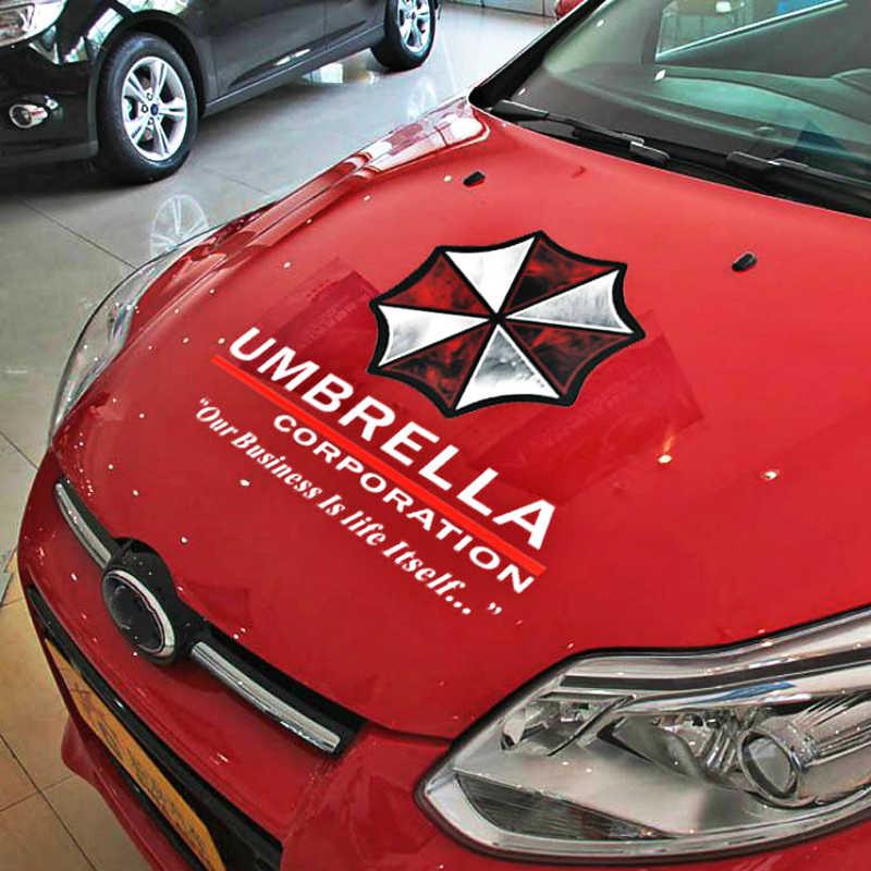 Etie 車アクセサリーアンブレラ社車のボンネット車のステッカーデカール装飾フォルクスワーゲンポロゴルフアウディ A3 フォーカス 2