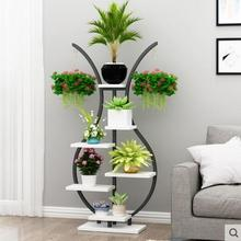 Floral flower shelf balcony shelf living room simple decorative vase flower shelf indoor balcony flower pot rack цены