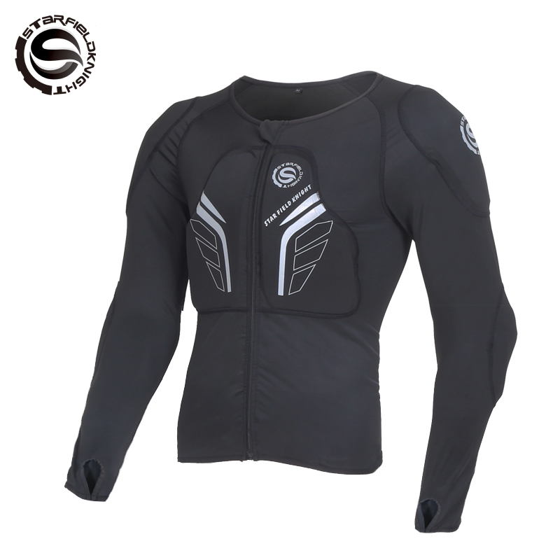 Motorcycle riding ski clothing locomotive protective soft armor men and women wearing outdoor gear