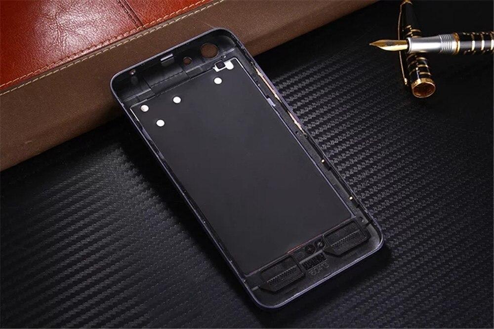 Para lenovo k5 plus original oficial de acrílico teléfono case para lenovo vibe k5 a6020 contraportada de la batería de piezas de repuesto