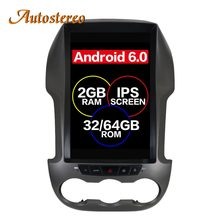 Tesla Stijl Android 7 Auto Gps Navigatie Voor Ford Ranger/F250 2011-2016 Radio Tape Recorder Autoradio Auto stereo Multimedia Ips(China)