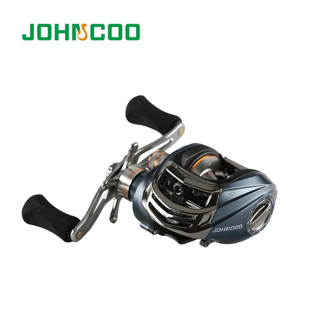 JOHNCOO canne à pêche coulée canne à pêche télescopique Combo avec 9 + 1BB moulinet de pêche canne à pêche de mer 1.8 m/2.1 m/2.4 m/2.7 m canne de voyage - 6