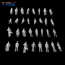 1;100 MIXED 100pcs miniature white figures Architectural model human model ABS plastic peoples 2.0cm human and peoples rights