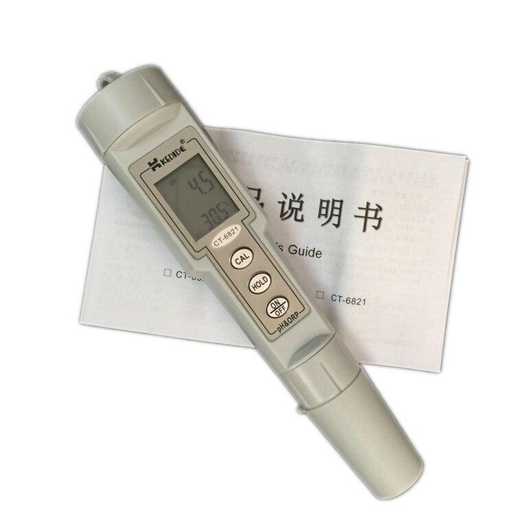 Přenosný digitální vodotěsný PH & ORP Meter 0.0-14.0pH Ph - Měřicí přístroje - Fotografie 6