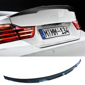 M4 Style Carbon fiber Trunks Sopiler Fit For BMW F80 M3 F82 F83 M4
