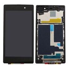 Продажа Качество AAA для sony Xperia Z1 L39H L39 C6902 C6903 C6906 ЖК-дисплей Дисплей + Сенсорный экран планшета в сборе с рамкой