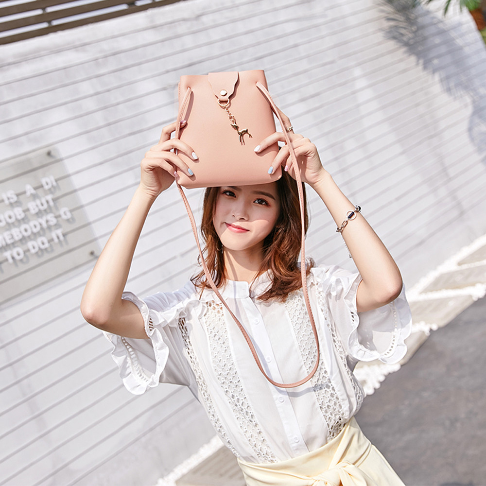 Woemn Fashion Cover Patchwork Crossbody Bag Shoulder Bag Phone Coin Bag Rattan Handbags MAY23