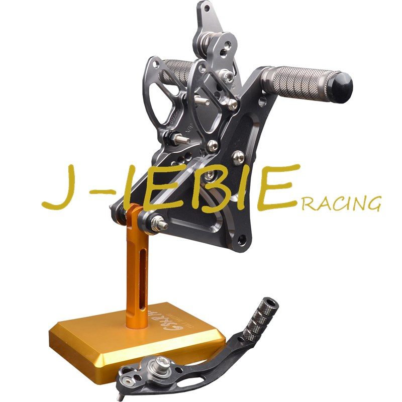 CNC Racing Rearset Adjustable Rear Sets Foot pegs Fit For Buell XB9 XB12 XB9R XB12R S TITAINUM morais r the hundred foot journey